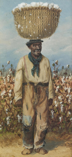 Art Prints of Gentleman Cotton Picker by William Aiken Walker