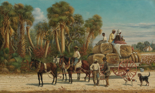 Art Prints of The Cotton Wagon by William Aiken Walker