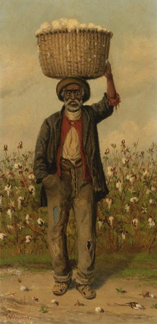Art Prints of Standing man by William Aiken Walker