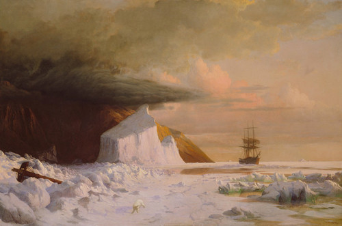 Art Prints of An Arctic Summer by William Bradford