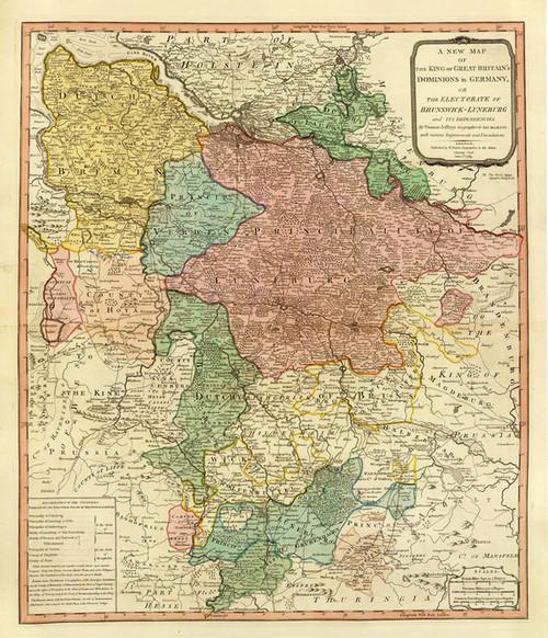 Art Prints of Brunswick Luneburg (2104032) by William Faden and Thomas Jefferys