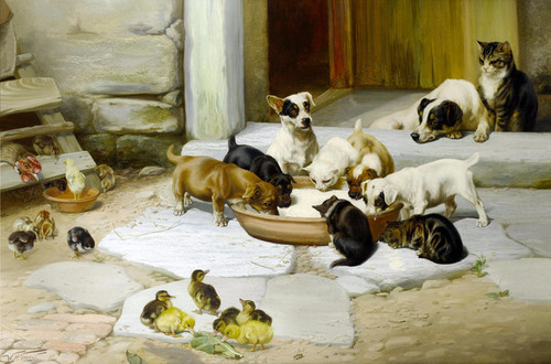 Art Prints of Dejeuner or Lunch by William Henry Hamilton Trood