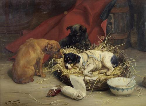 Art Prints of Shamming by William Henry Hamilton Trood
