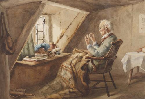 Art Prints of Threading the Needle by William Kay Blacklock