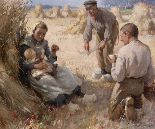 Art Prints of A Captive Audience by William Kay Blacklock