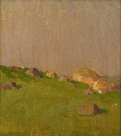 Art Prints of Pasture Boulders by William Lathrop