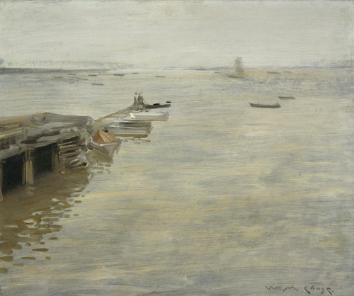 Art Prints of A Gray Day by William Merritt Chase