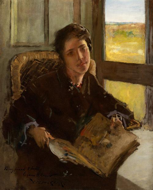 Art Prints of Alice Dieudonnee, Shinnecock Hills by William Merritt Chase