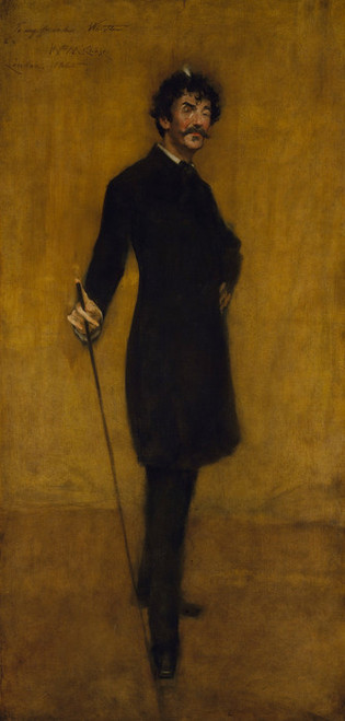 Art Prints of James Abbott Mcneill Whistler by William Merritt Chase