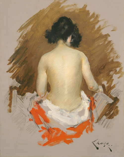 Art Prints of Nude 1901 by William Merritt Chase