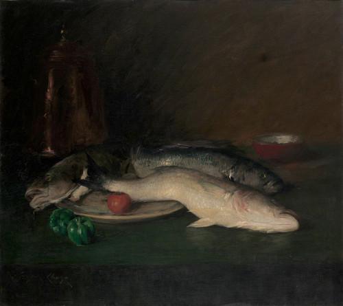 Art Prints of Still Life Fish by William Merritt Chase