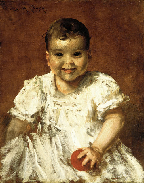 Art Prints of Roland by William Merritt Chase