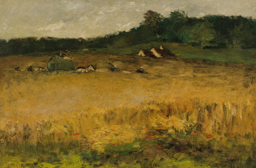 Art Prints of Wheat Field by William Merritt Chase