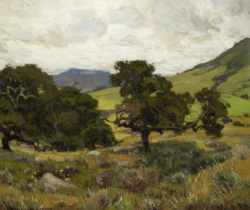 Art Prints of California Hills II by William Wendt