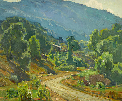 Art Prints of Camp in the Mountains by William Wendt
