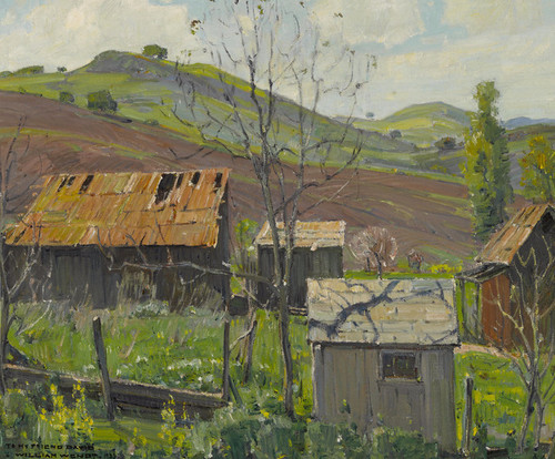Art Prints of Foothill Ranch by William Wendt