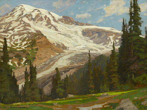 Art Prints of Glacial Grandeur by William Wendt