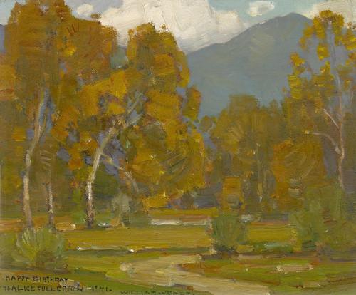 Art Prints of Laguna Landscape II by William Wendt