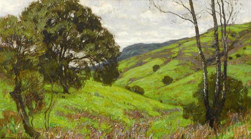 Art Prints of Laguna Landscape by William Wendt