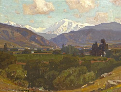Art Prints of Mount San Antonio II by William Wendt