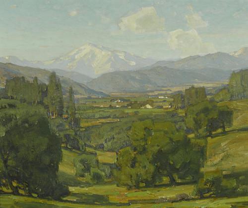 Art Prints of Mount San Antonio by William Wendt