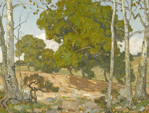 Art Prints of Oaks and Sycamores by William Wendt