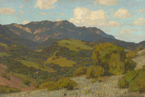 Art Prints of Rolling Hills California by William Wendt