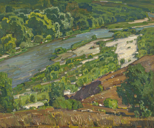 Art Prints of Santa Ana River by William Wendt