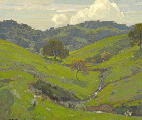 Art Prints of Spring by William Wendt
