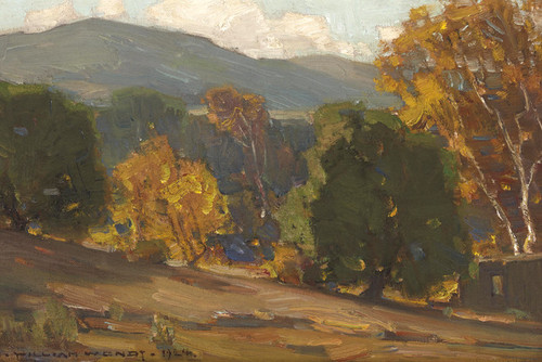 Art Prints of The Hills of Capistrano by William Wendt