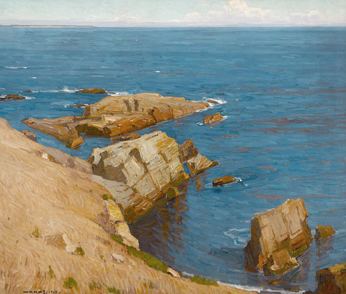 Art Prints of The Silent Summer Sea by William Wendt