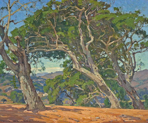 Art Prints of The Hilltop by William Wendt