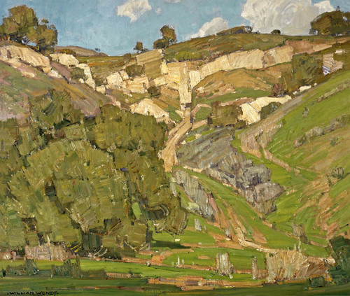 Art Prints of Upward Trail by William Wendt