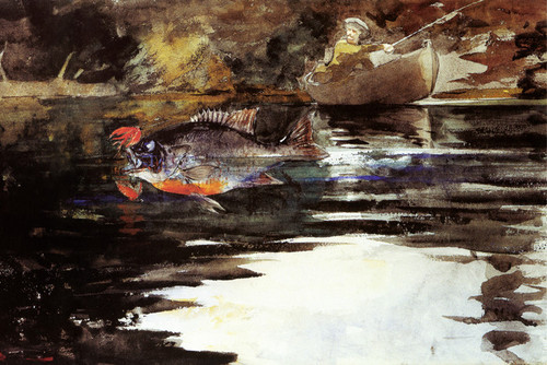 Art Prints of An Unexpected Catch by Winslow Homer