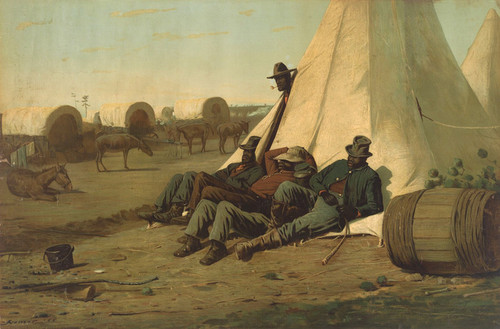Art Prints of Army Teamsters by Winslow Homer