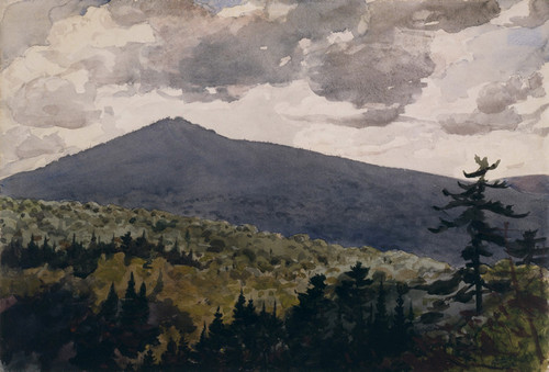 Art Prints of Burnt Mountain by Winslow Homer