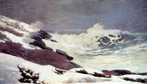 Art Prints of Coast in Winter by Winslow Homer