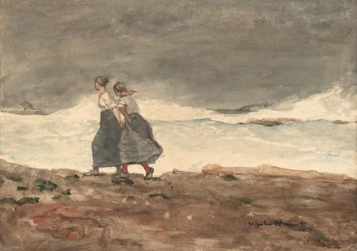 Art Prints of Danger by Winslow Homer