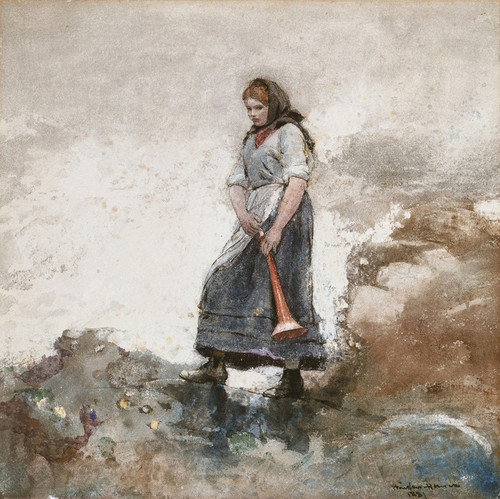 Art Prints of Daughter of the Coast Guard by Winslow Homer