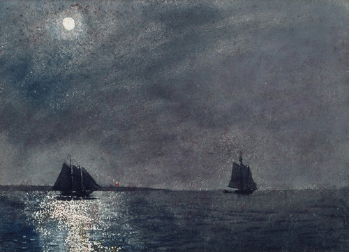 Art Prints of Eastern Point Light by Winslow Homer