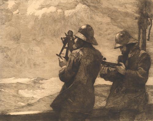 Art Prints of Eight Bells by Winslow Homer