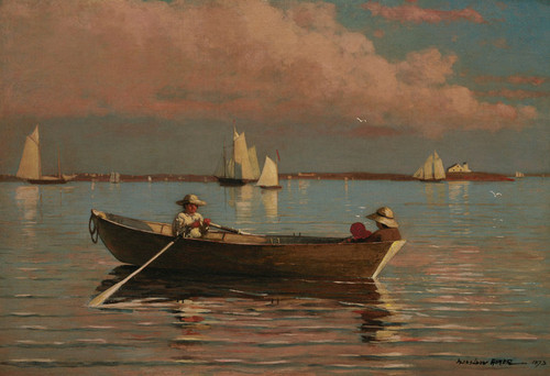 Art Prints of Gloucester Harbor 2 by Winslow Homer