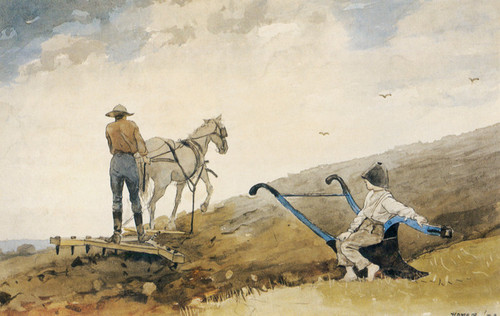 Art Prints of Harrowing by Winslow Homer