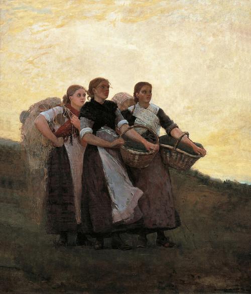 Art Prints of Hark the Lark by Winslow Homer