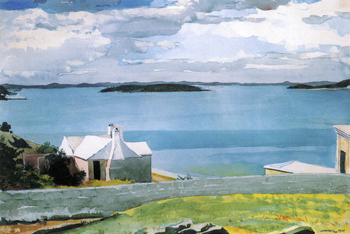 Art Prints of Inland Water, Bermuda by Winslow Homer