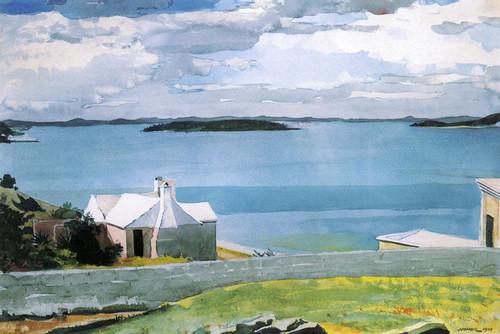 Art Prints of Inland Water, Bermuda by Winslow Homer