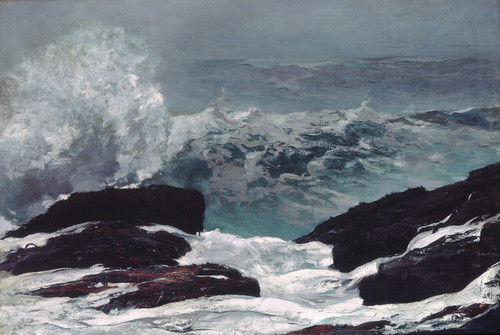 Art Prints of Maine Coast by Winslow Homer