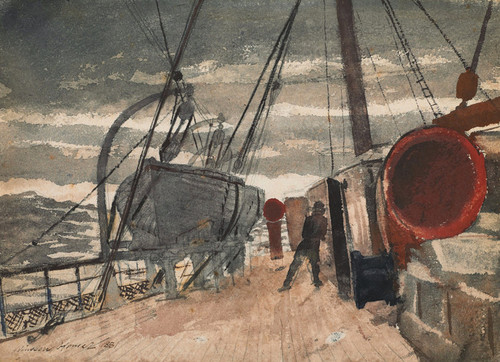 Art Prints of Marine by Winslow Homer