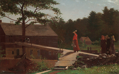 Art Prints of Old Mill, the Morning Bell by Winslow Homer
