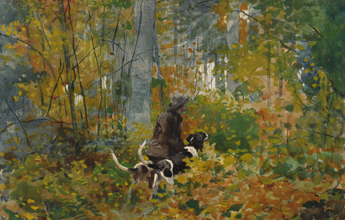 Art Prints of On the Trail by Winslow Homer